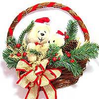 bskt flat w bearsjpg - Decorative Baskets